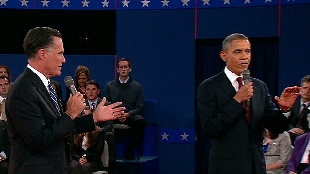 Decoding body language in second debate