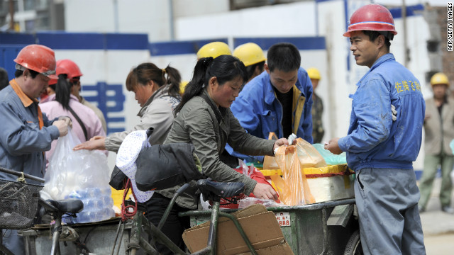Slower growth in Chinese manufacturing