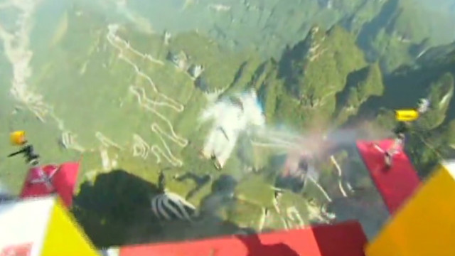 Wingsuit Flying World Championship held