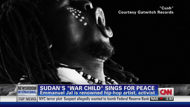 Sudan's 'war child' sings for peace