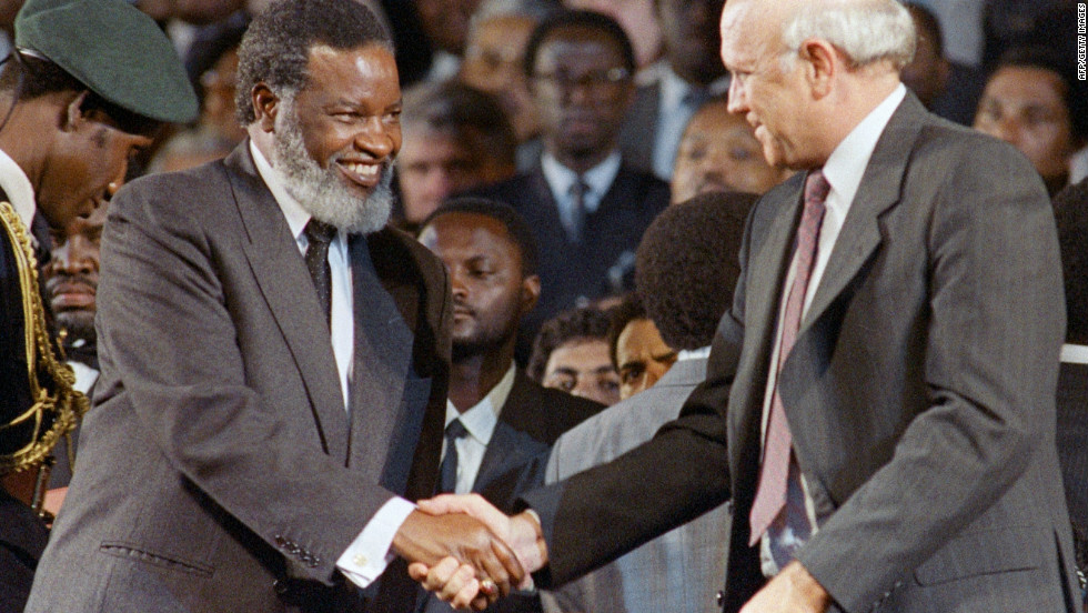 Sam Nujoma became the first president of an independent Namibia. He was head of the South West Africa People's Organization (Swapo) that fought against the apartheid rule of South Africa for 22 years during the guerilla war of independence.