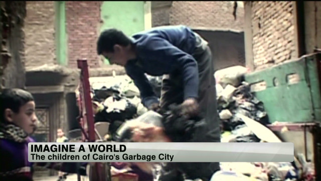Children who depend on garbage