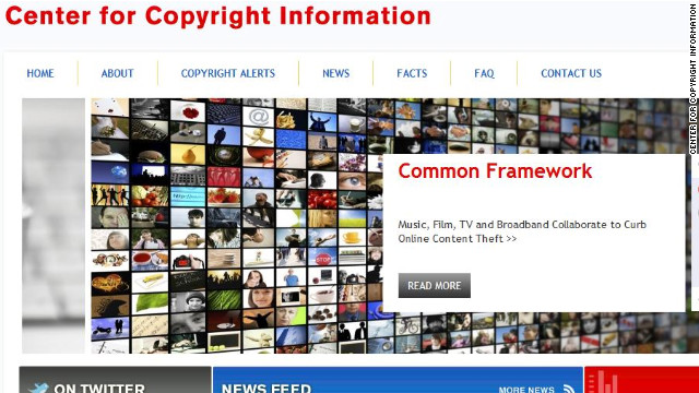 The Center for Copyright Information says a new system will warn users when accounts are used to illegally download content.