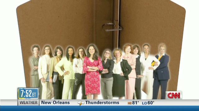 'Binders full of women' instant web meme
