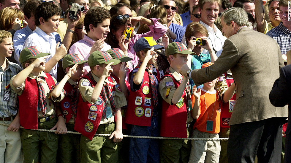 19: The number of presidents that have served as honorary president of Boy Scouts of America. (That's every president since BSA was founded.)
