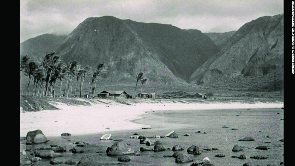 The government resumed its policy of banishment for Hansen's disease patients in 1887.  The island of Molokai became the location for Hawaii's banished citizens.  Mother Marianne lived the rest of her days working with the afflicted in the remote location, separated from the rest of society.