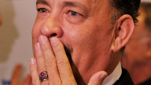 Tom Hanks' F-bomb on live TV
