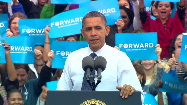 Obama: Romney has 'Romnesia'
