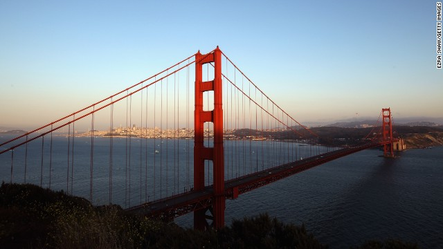 Suicide barrier for Golden Gate?