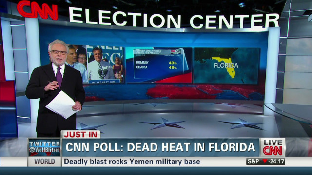 CNN poll shows tight race in Florida