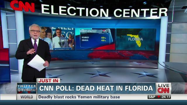 CNN poll shows tight race in Florida