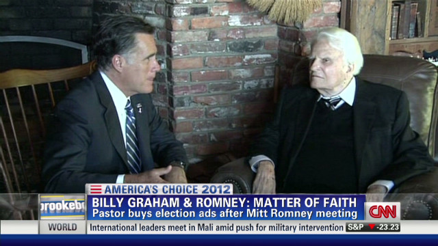 Billy Graham: Vote based on faith