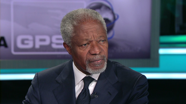 Kofi Annan on intervening in Syria