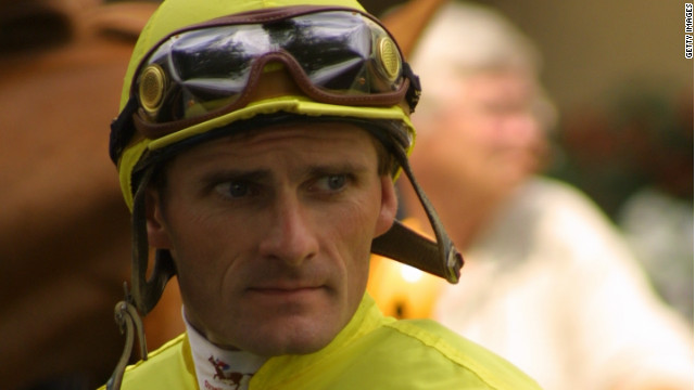 Jockey Jeff Johnston.