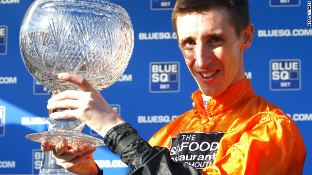 Jockey George Baker.