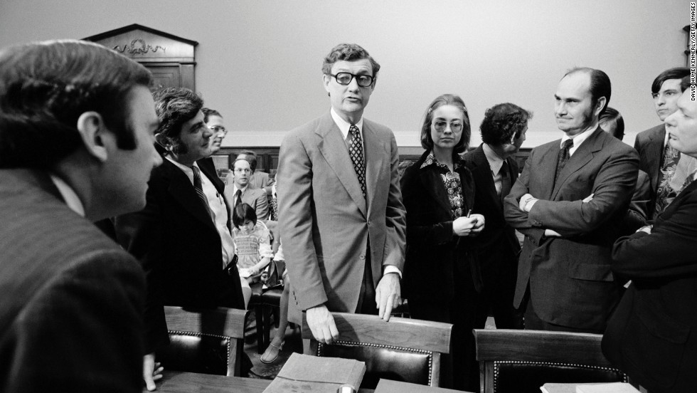 Rodham was a lawyer for the Rodino Committee, whose work led to impeachment charges against U.S. President Richard Nixon in 1974.