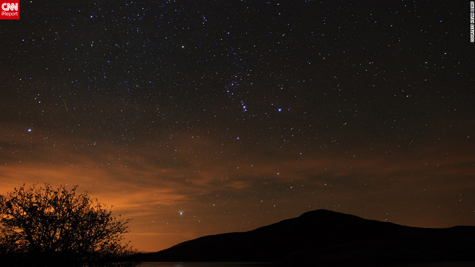 "<a href=""http://ireport.cnn.com/docs/DOC-861902"">Kevin Lewis</a> stayed up late and braved cold weather just so he could experience the serenity of watching the Orionids from North Wales."