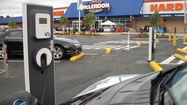 Public Charging Stations Fuel Desire For Electric Cars