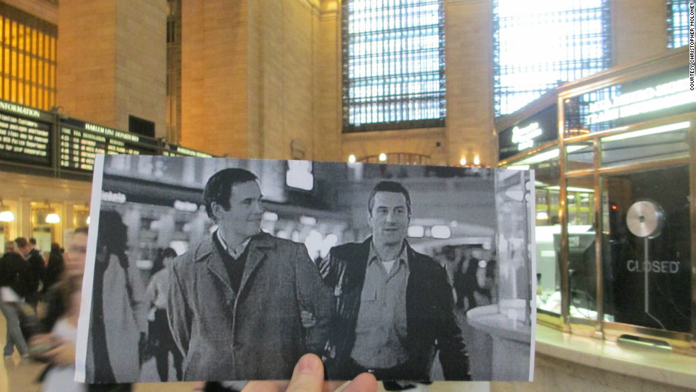 "Bounty hunter Jack Walsh (Robert DeNiro) leads Jonathan ""The Duke"" Mardukas (Charles Grodin) through Grand Central Terminal. The terminal also makes appearances in dozens of films including ""Hackers,"" ""Eternal Sunshine of the Spotless Mind,"" ""Revolutionary Road"" and ""Armageddon"" (when it's destroyed)."