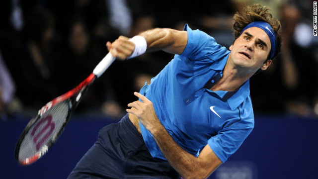Switzerland's Roger Federer beat Japan's Kei Nishikori in last year's final in Basel as he ended 2011 with three successive titles.