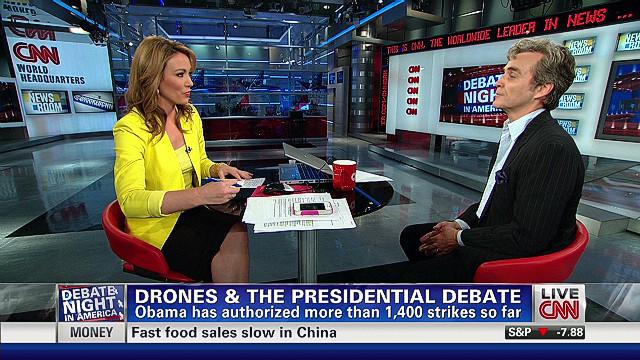 Writer: Candidates should address drones