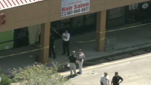 Salon shooter's restraining order