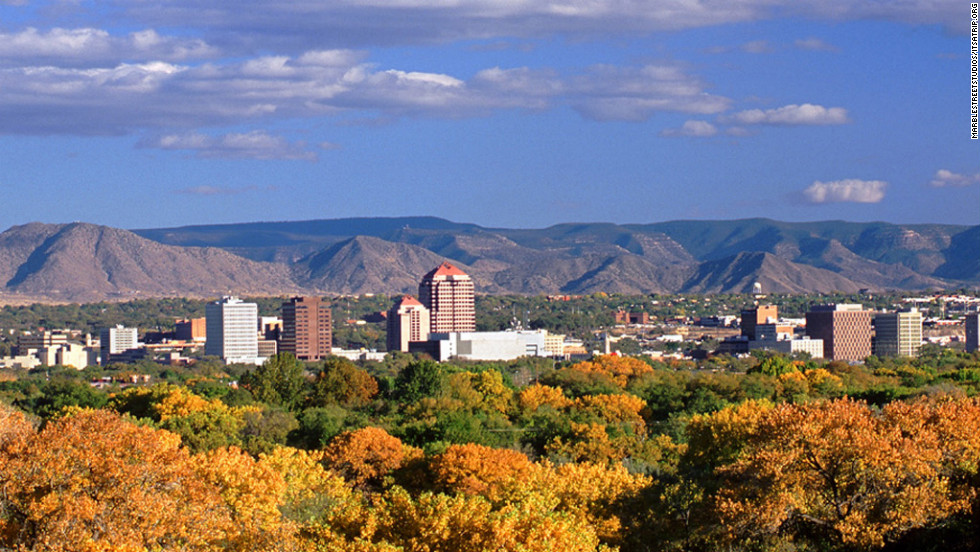 7. Albuquerque, New Mexico