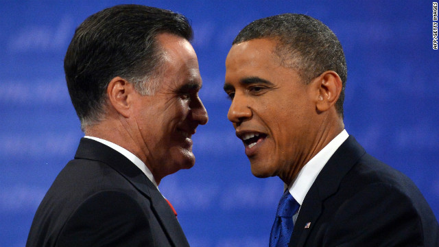 Final debate between Obama, Romney