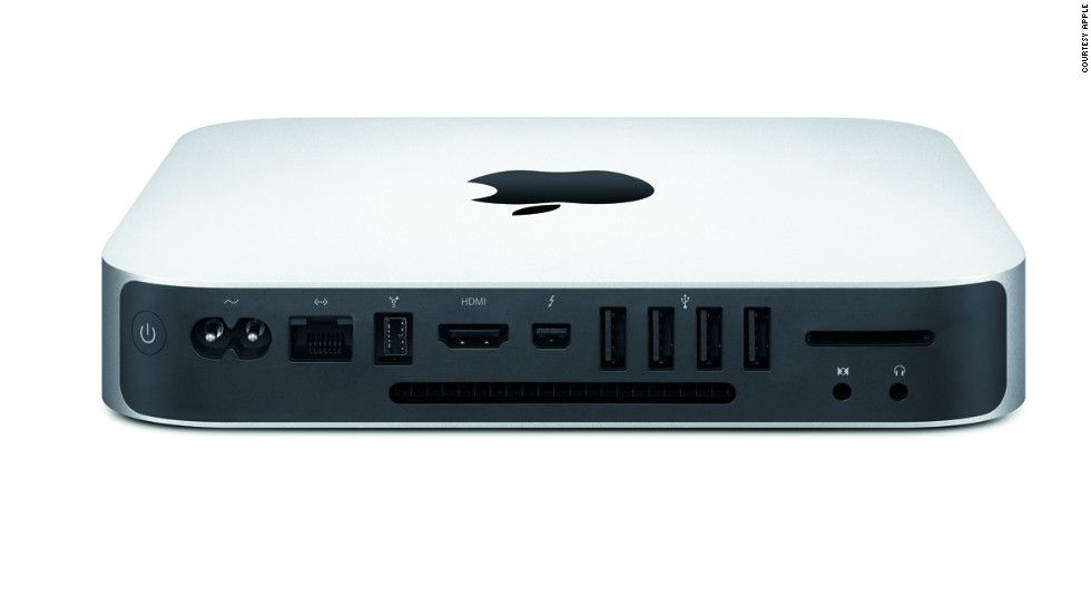 The Mac Mini, Apple's smallest and cheapest desktop, gets a processor upgrade and starts at $599.