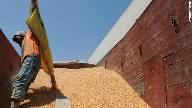 After a poor harvest in Morocco, the cost of grain has increased while predictions for economic growth have lowered