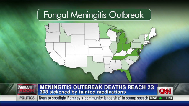 Death toll from meningitis outbreak up