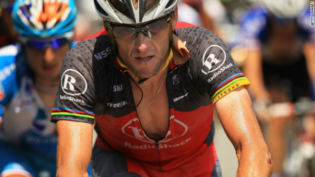 The world according to Lance Armstrong