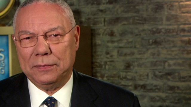 Colin Powell backs Obama for president