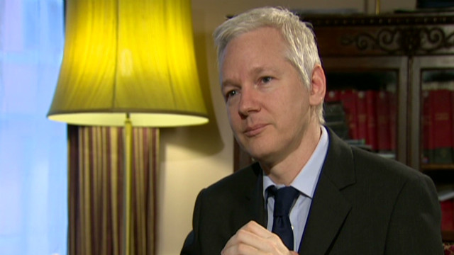 Assange living in a 'space station'