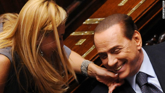 Rumors about the 76-year-old Berlusconi's intention to run again for office have been floating around for months.
