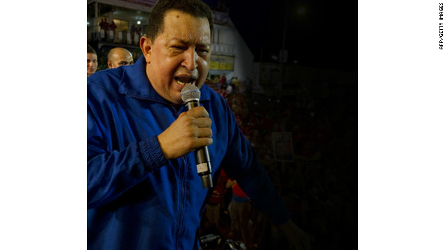 Venezuelan leader's long cancer fight