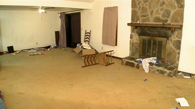 Craigslist crowds strip house bare