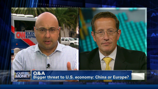 Bigger threat: China or Europe?