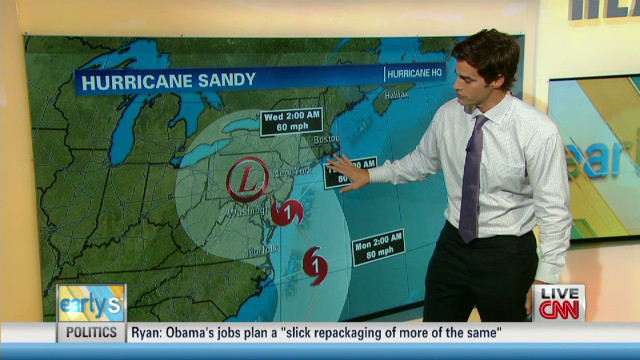 Hurricane Sandy 'storm of a lifetime'
