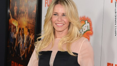 HOLLYWOOD, CA - OCTOBER 25: Actress Chelsea Handler arrives to the premiere of Paramount Pictures' 'Fun Size' at Paramount Theater on the Paramount Studios lot on October 25, 2012 in Hollywood, California. (Photo by Alberto E. Rodriguez/Getty Images)