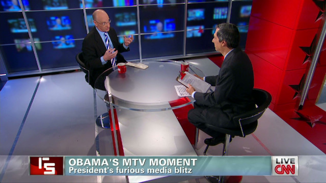 Obama's MTV moment