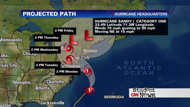 CNN Student News - 10/29/12
