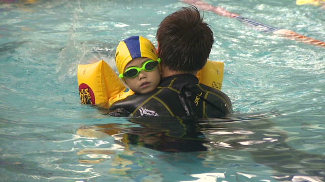 One in five Hong Kong residents can swim