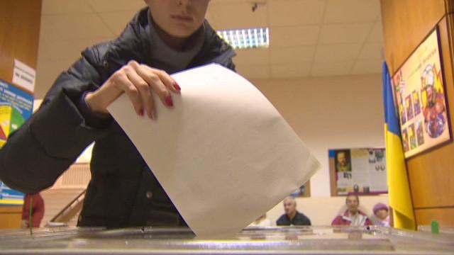 Ukrainians head to the polls