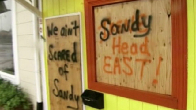 Sandy approaching northeast U.S.