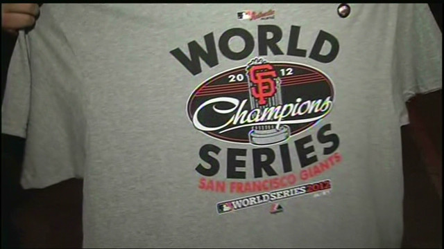 San Francisco Giants win 2012 World Series