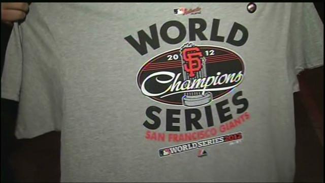 San Francisco Giants win 2012 World Series