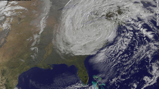 Junger: Sandy similar to perfect storm