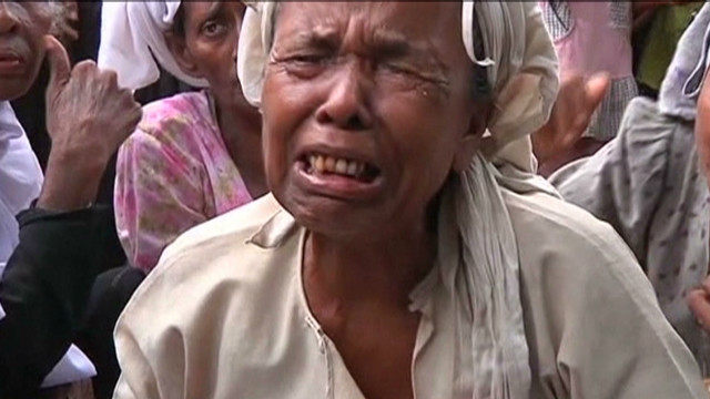Myanmar's displaced detail violence