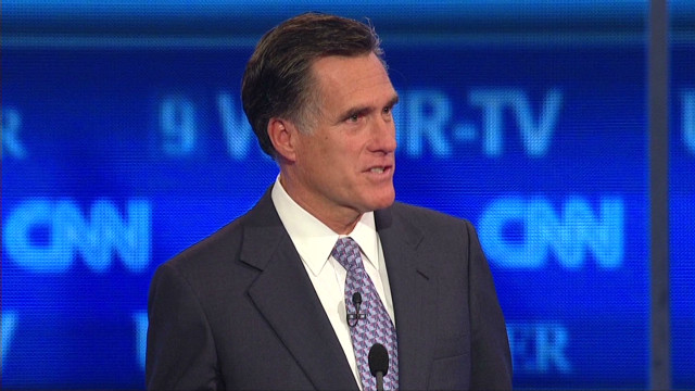 2011: Romney on disaster funding options